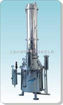 TZ400不銹鋼塔式蒸汽重蒸餾水器.上海三申塔式蒸汽重蒸餾水器