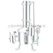 上海申安不銹鋼蒸餾水器 SHZ32-100塔式蒸汽重蒸餾水器