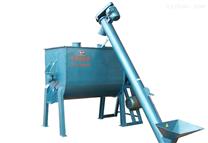 臥式干粉雙螺帶混合機膩子膏攪拌機化工機械設備無重利混合機