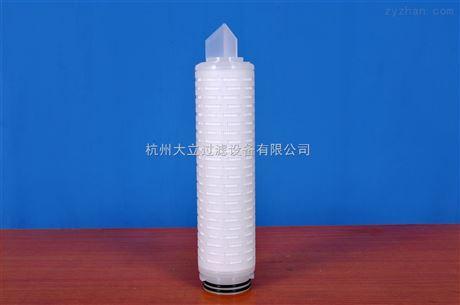 疏水性PTFE折叠滤芯材料
