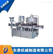 武汉全自动灌装旋盖机 自动灌装上盖旋盖机