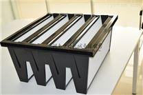 十万级洁净室通风用V型高效空气过滤器 风量大 阻力低
