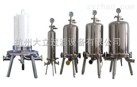 多芯液体卫生级过滤器技术参数