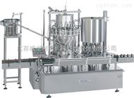 YG18/12液體回轉灌裝旋(軋)蓋一體機