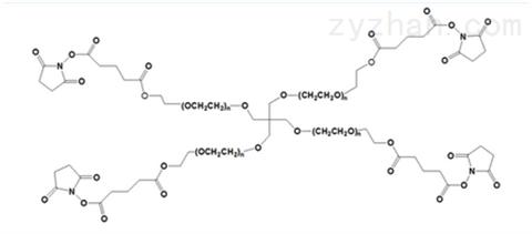 4arm PEG SG,四臂聚乙二醇戊二酸琥珀酰酯