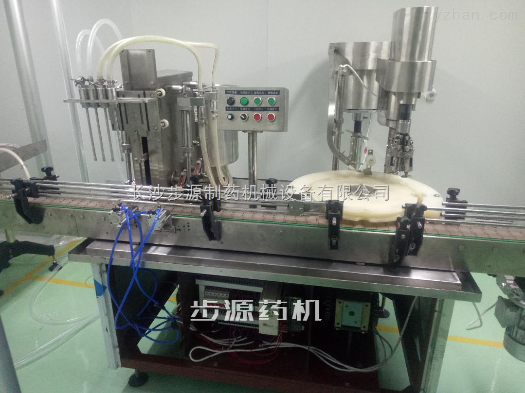 四泵直线灌装轧盖机