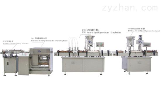 大容量输液瓶灌装生产线应用范围