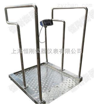 血液透析室轮椅秤,坐轮椅病人称体重电子秤