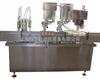 大输液,糖浆灌装扎(旋)盖一体机 ,二合一灌装机